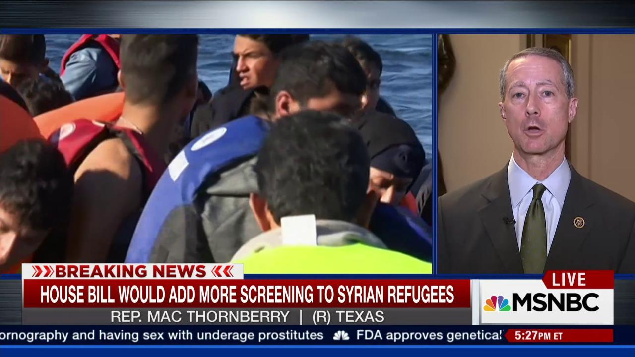 House Passes Refugee Bill, Defies Obama