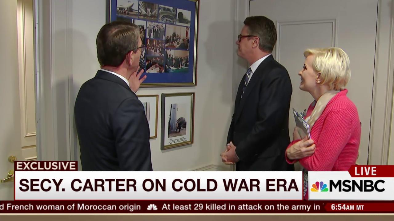 Joe and Mika talk with Ash Carter