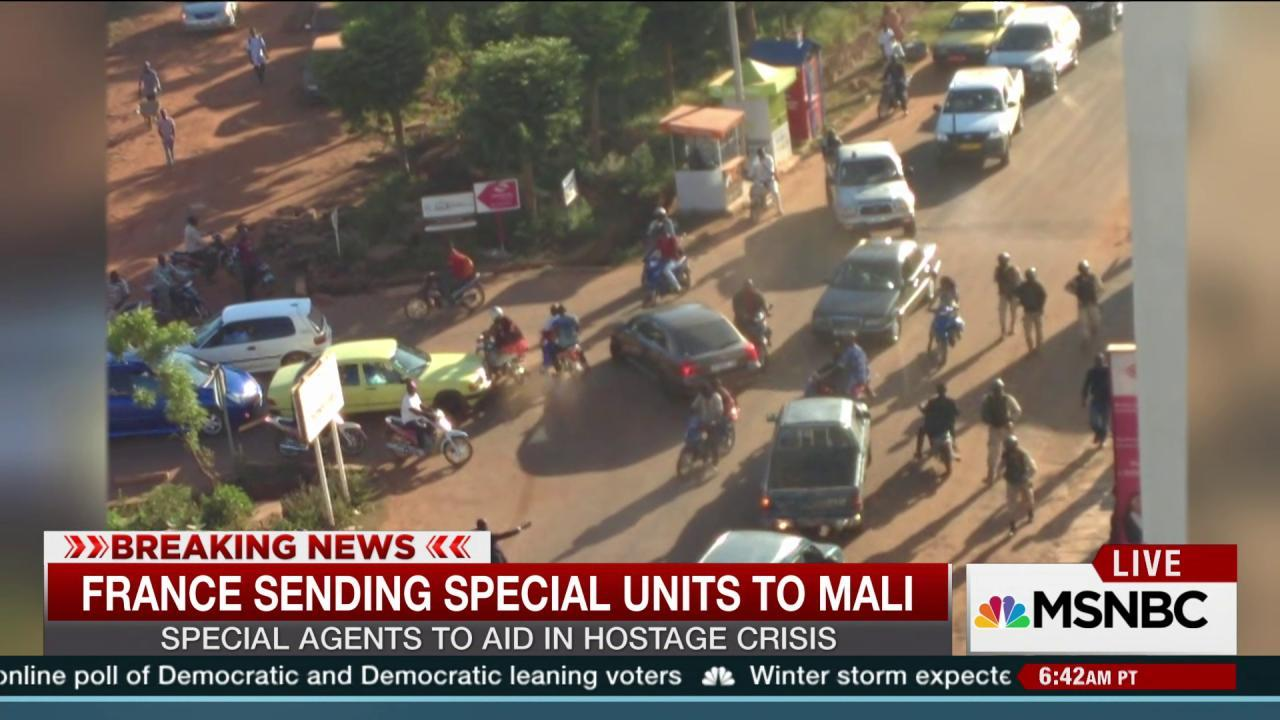 France sending special units to Mali