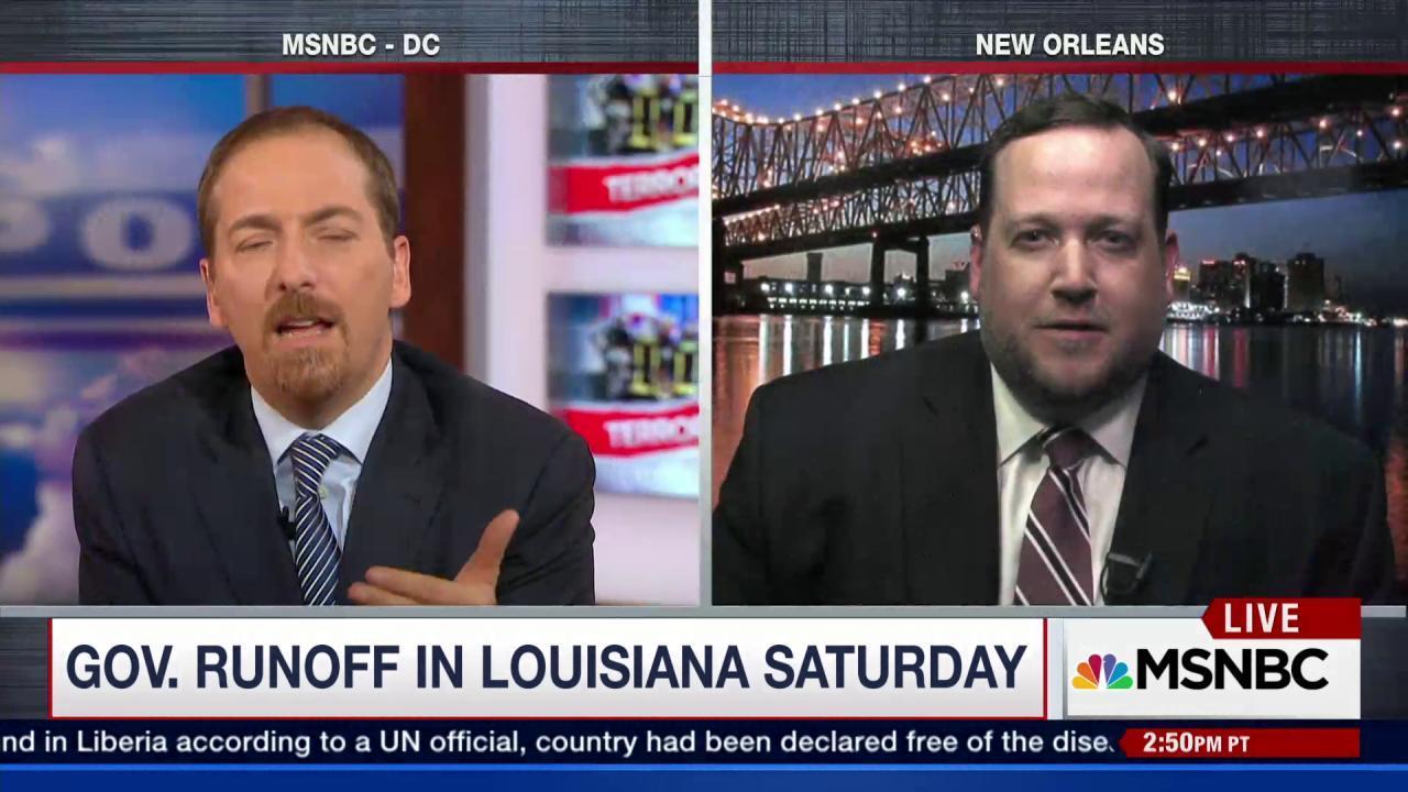 Syrian Refugees Overshadows Louisiana...