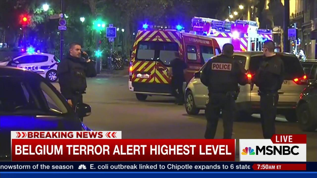 3 arrested in connection with Paris attacks