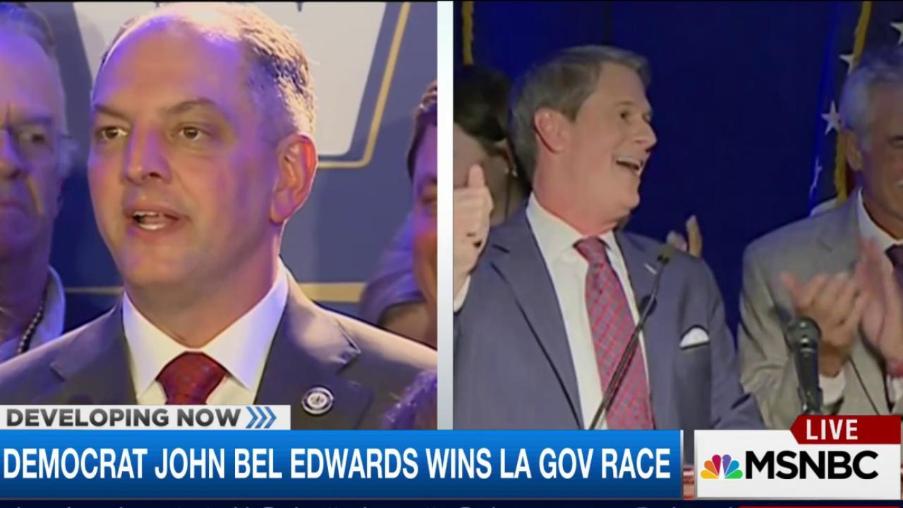 Dem John Bel Edwards wins LA governor race