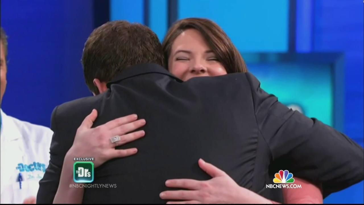 27140ac7b HGTV Host Battling Cancer Meets Viewer Who Saved His Life
