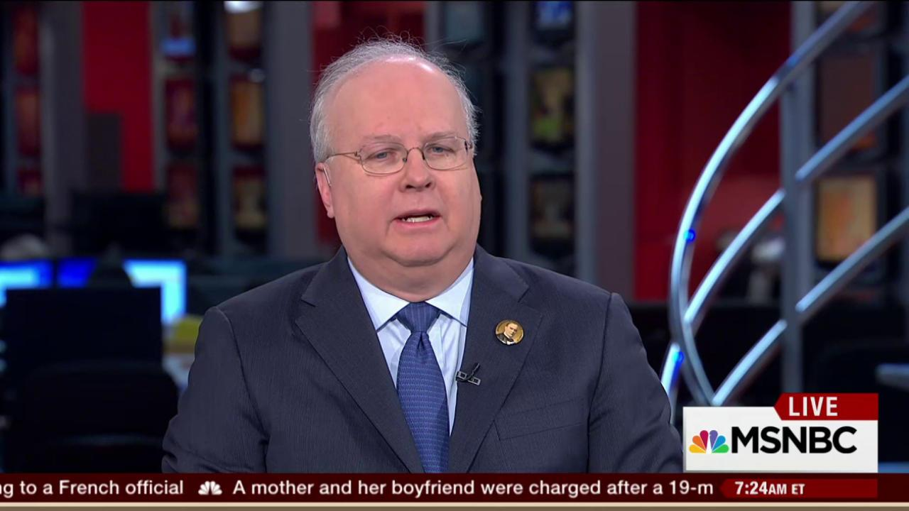Rove: Trump can't win general election