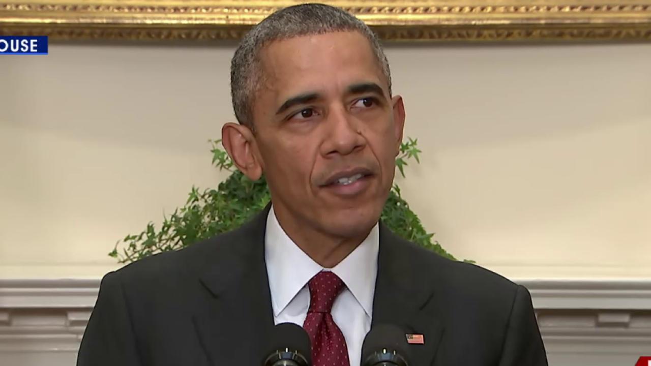 Obama: We know of no threat on homeland