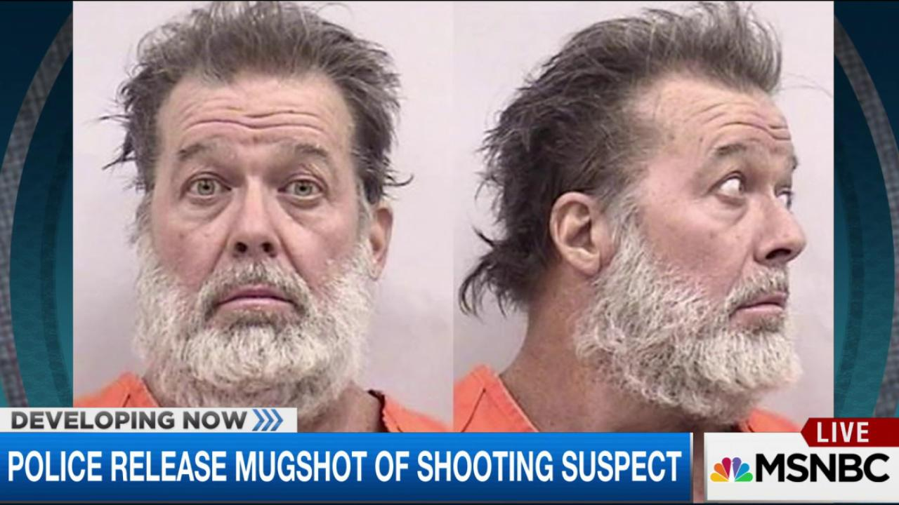 Police release mugshot of shooting suspect