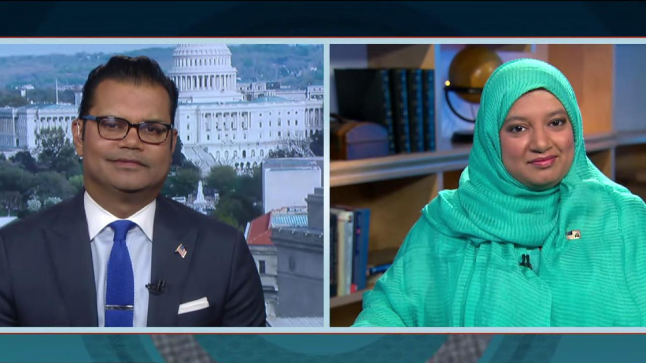 Republican Muslims react to Trump's rhetoric