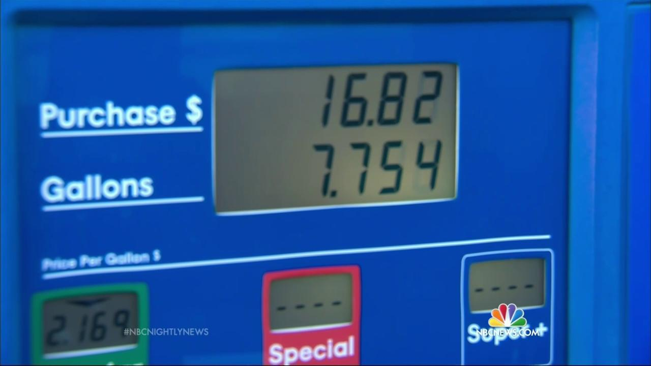 U.S. Travelers Met With Lowest Gas Prices in 7 Years