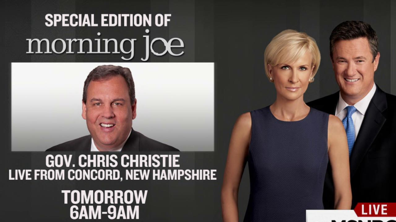 Rnc Live Trump Puts Lid On Lock Her Up Chant: Morning Joe Live From New Hampshire On Tuesday