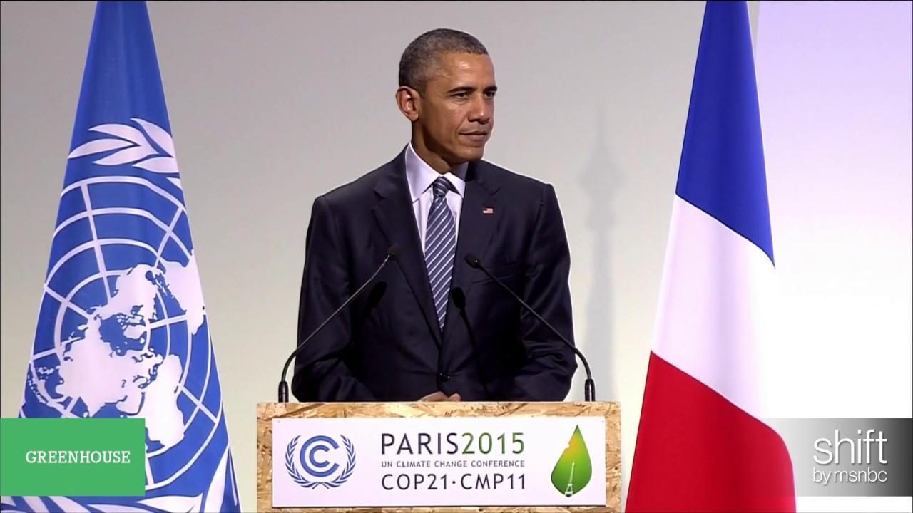 Obama expands U.S. climate pledge in Paris
