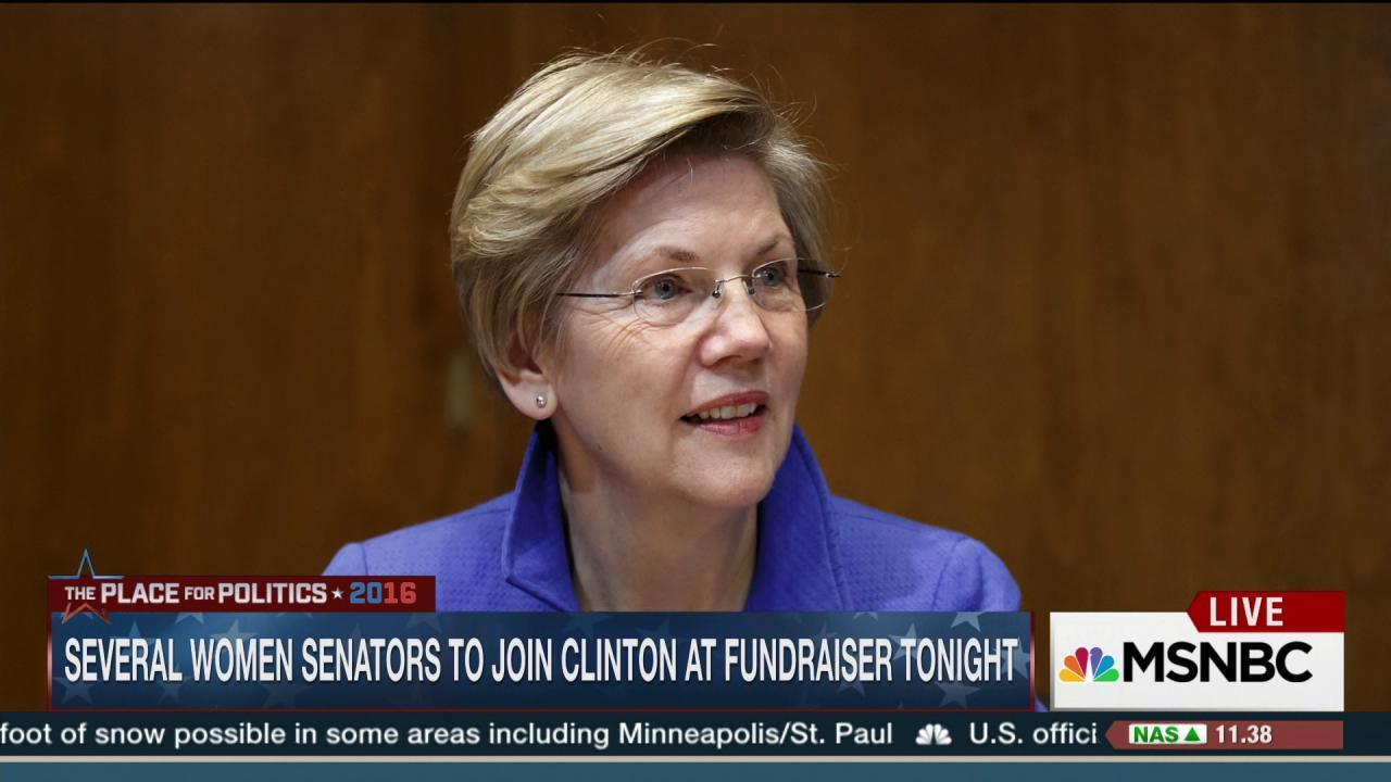 13 of 14 Dem. women senators endorse Clinton