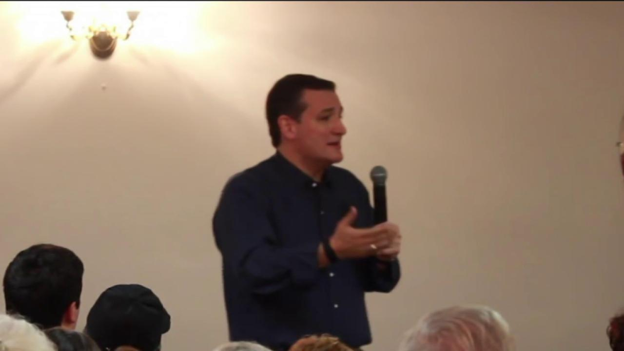 Cruz gets colorful on contraception