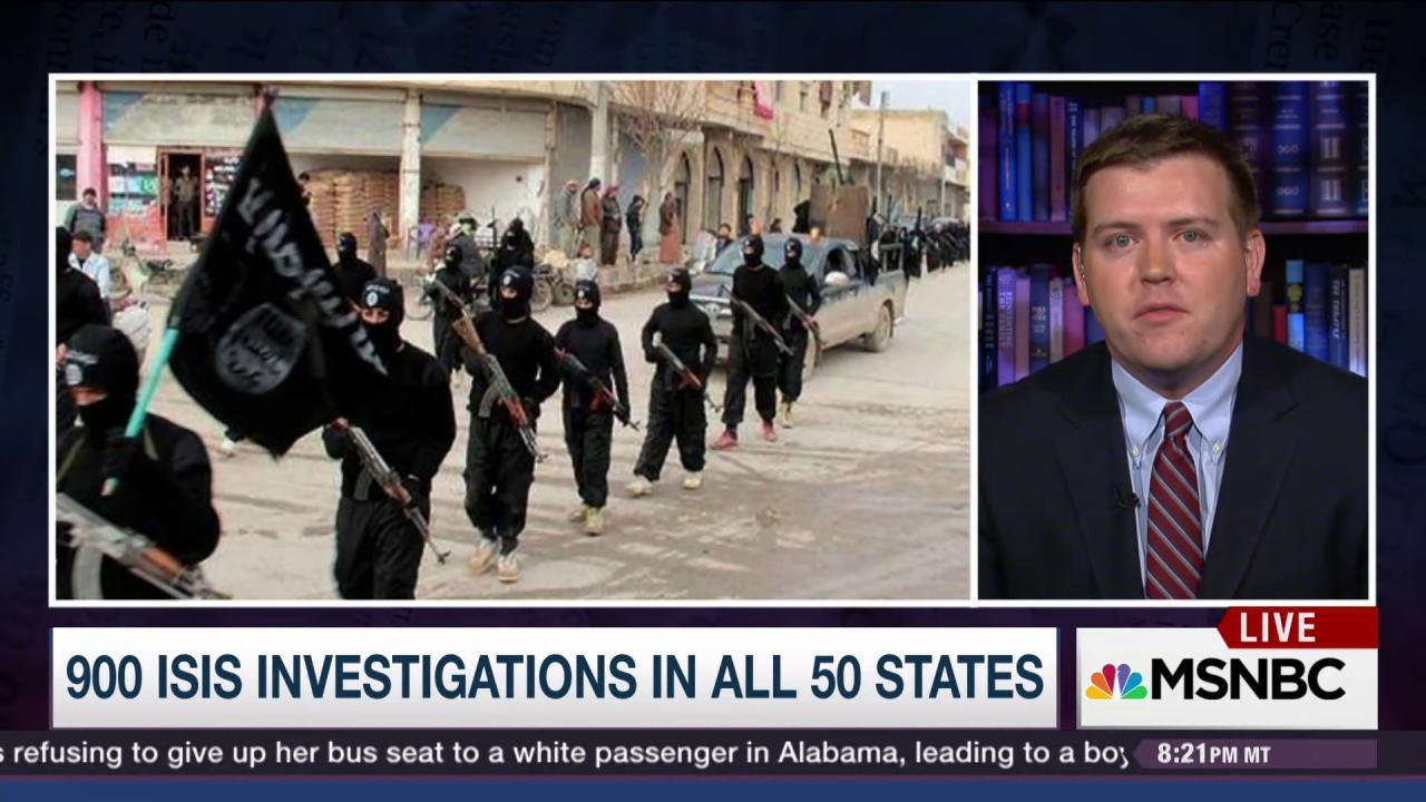Where are ISIS-related arrests in US?