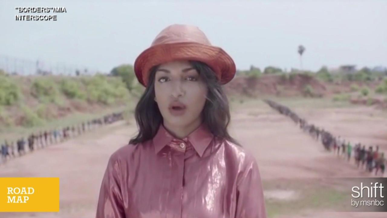 M.I.A.'s new video tackles refugee crisis