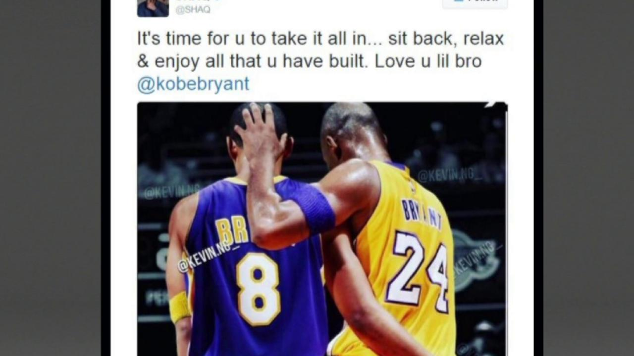 Kobe's tech-savvy retirement announcement