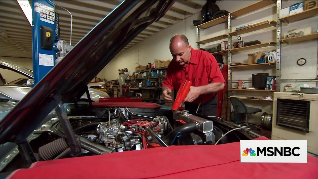 Car repair shop gets a financial tuneup