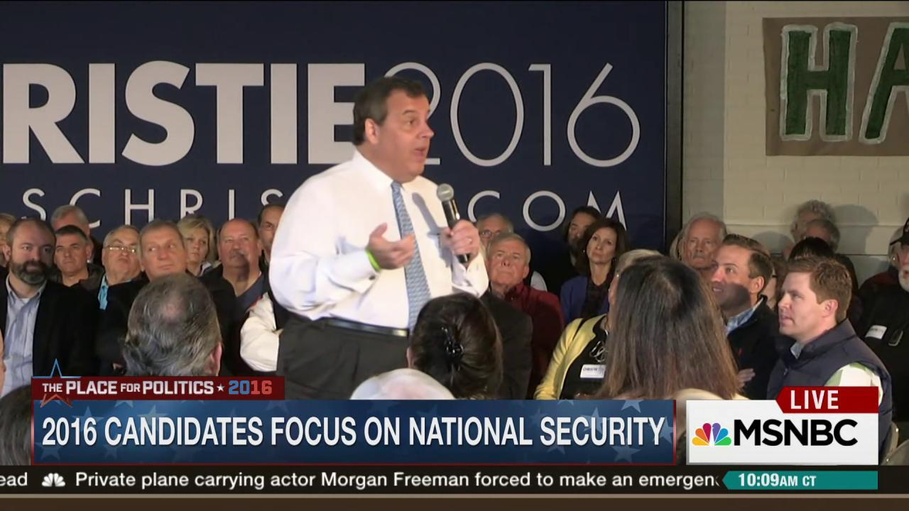 2016 candidates touting national security...