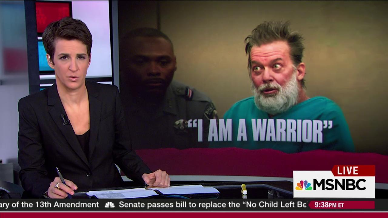 Shooting suspect: 'I am a warrior for the...