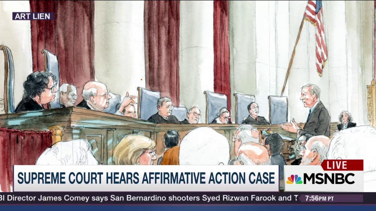 Scalia's shocking Affirmative Action remarks
