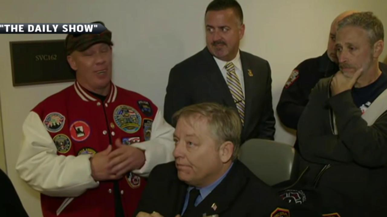 Stewart pushes 9/11 first responders bill