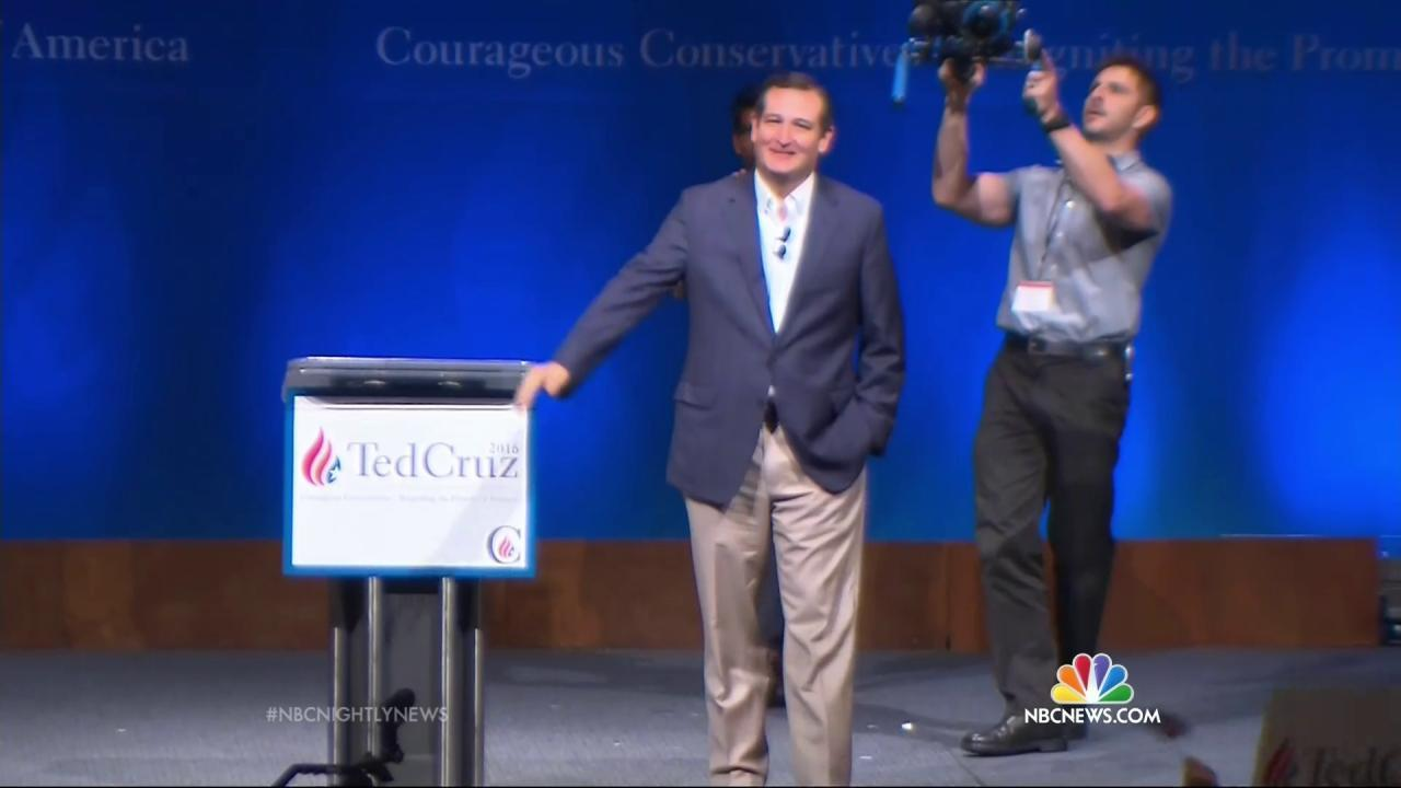 Trump Leads National GOP Horserace, Cruz Surges Into 2nd Place
