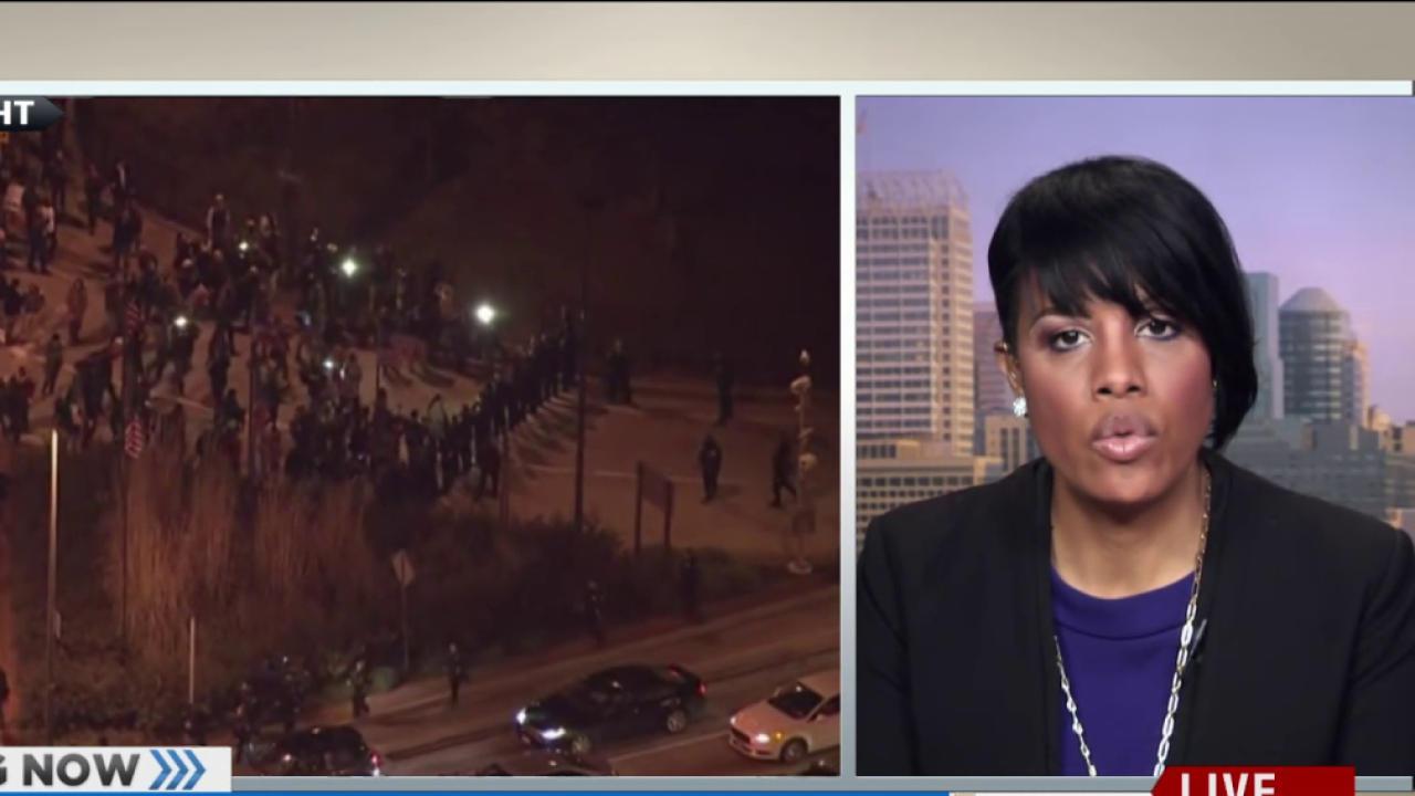 Baltimore mayor: 'Justice isn't a verdict'