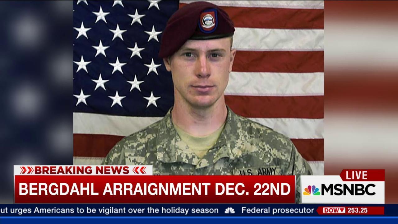 Bergdahl arraignment set for Dec. 22nd