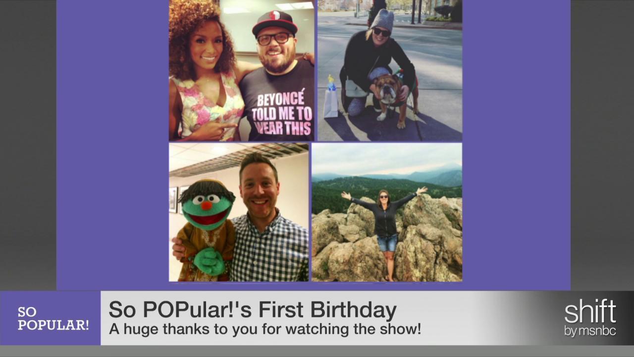 So POPular! celebrates its first birthday