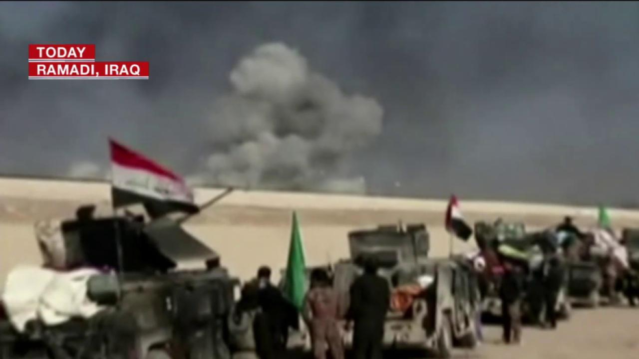 Iraqi Army Battles ISIS at Ramadi