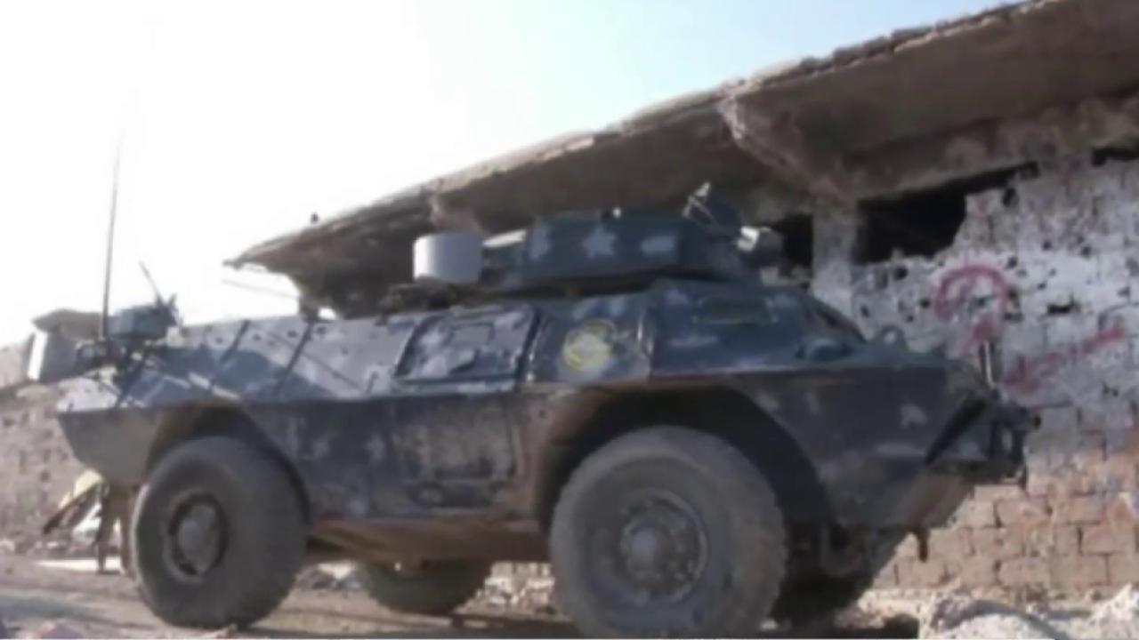 Iraqi forces slowed in Ramadi advance