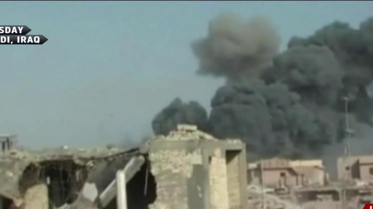 Iraqi forces face stiff resistance from ISIS