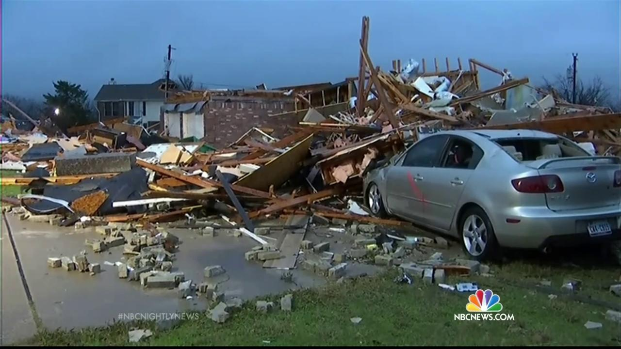 11 Dead Overnight in Texas as Tornado Destruction Spans 40
