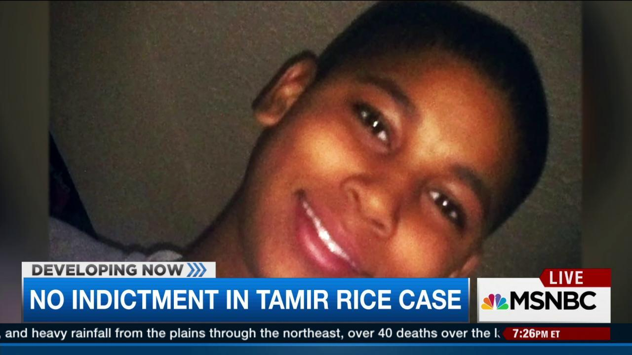 No indictment in Tamir Rice case