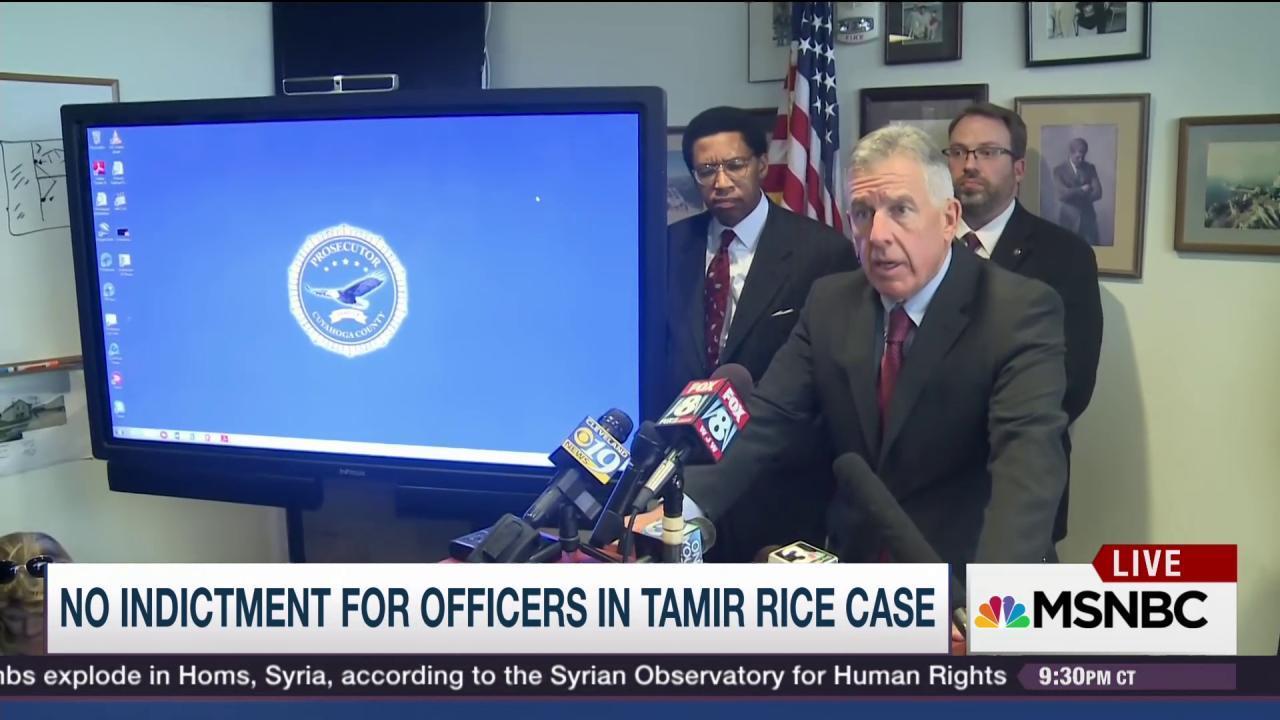 Tamir Rice shooting called error, not crime