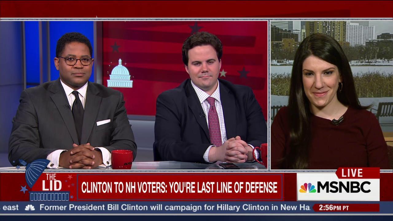Trump takes on Bill Clinton