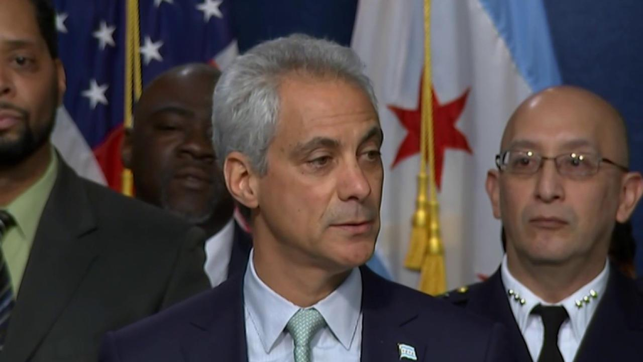 Chicago mayor announces new 'de-escalation...