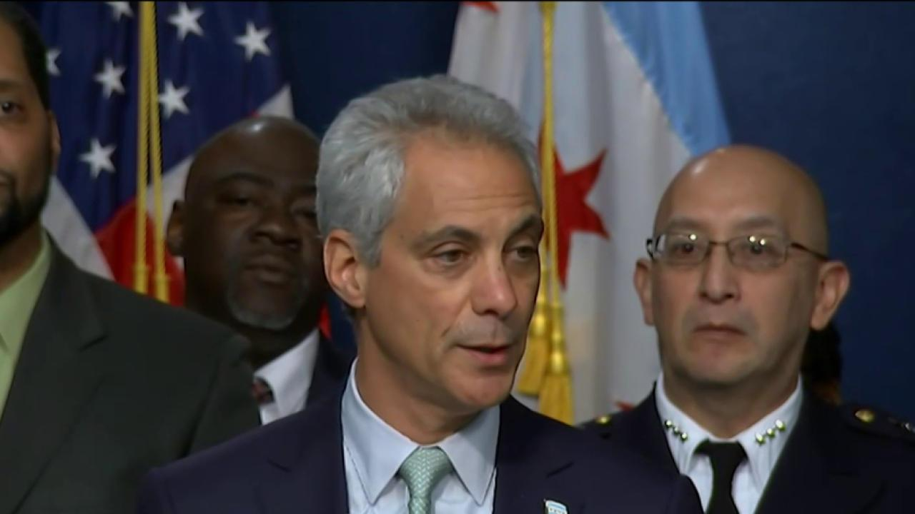 Emanuel announces de-escalation tactics