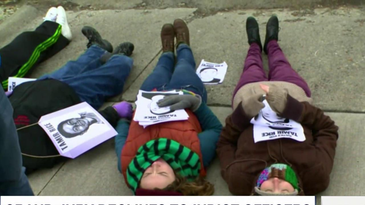 Protestors seek justice for Tamir Rice family