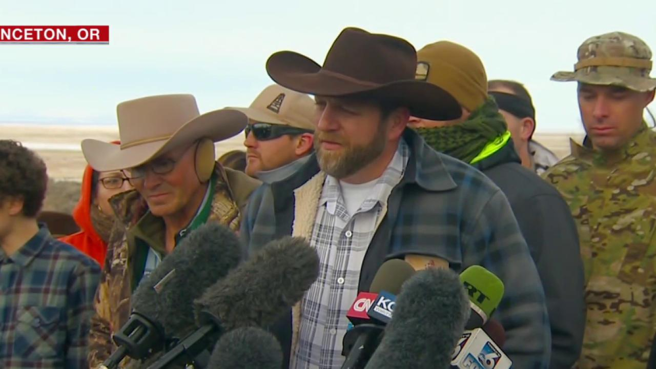 Bundy Brothers Lead Armed Protesters