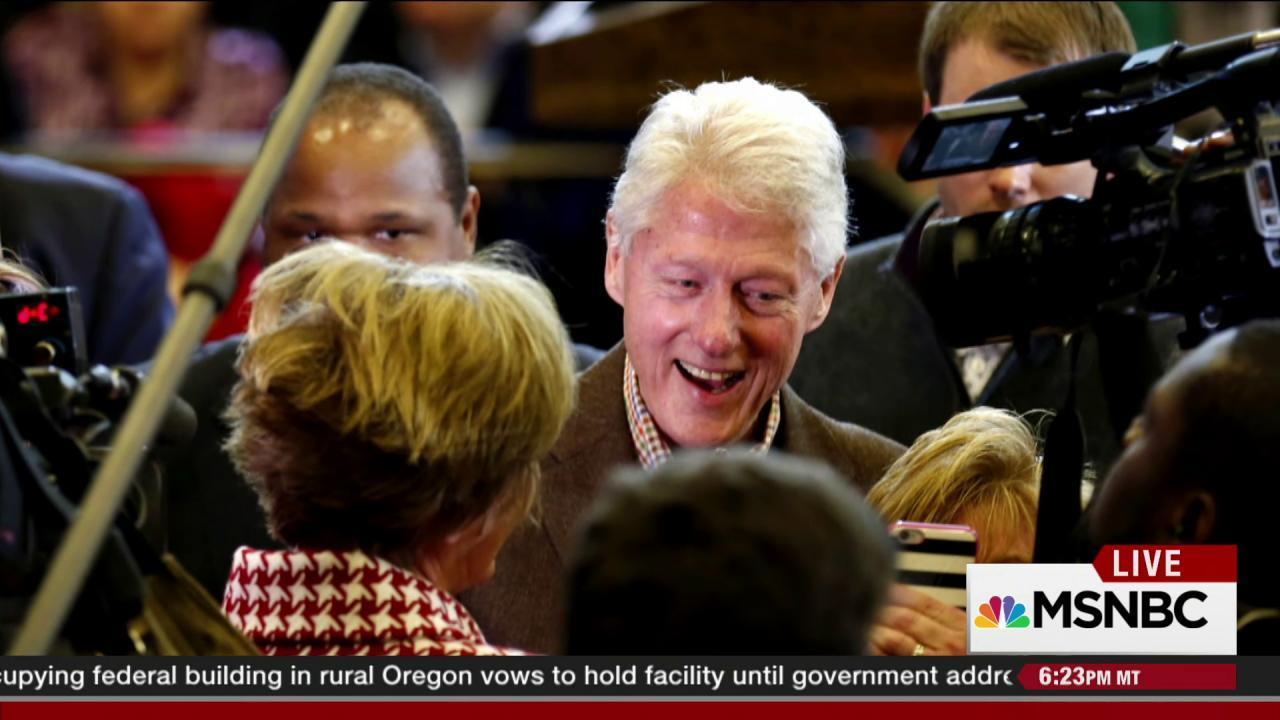 The Bill Clinton factor