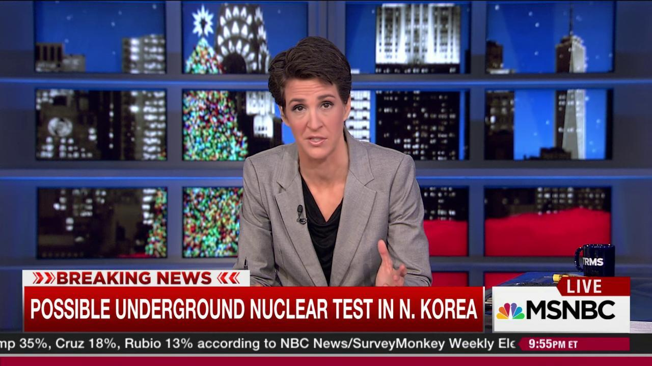 North Korea nuclear test suspected