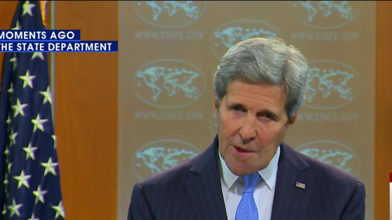 Kerry: North Korea has never been left...