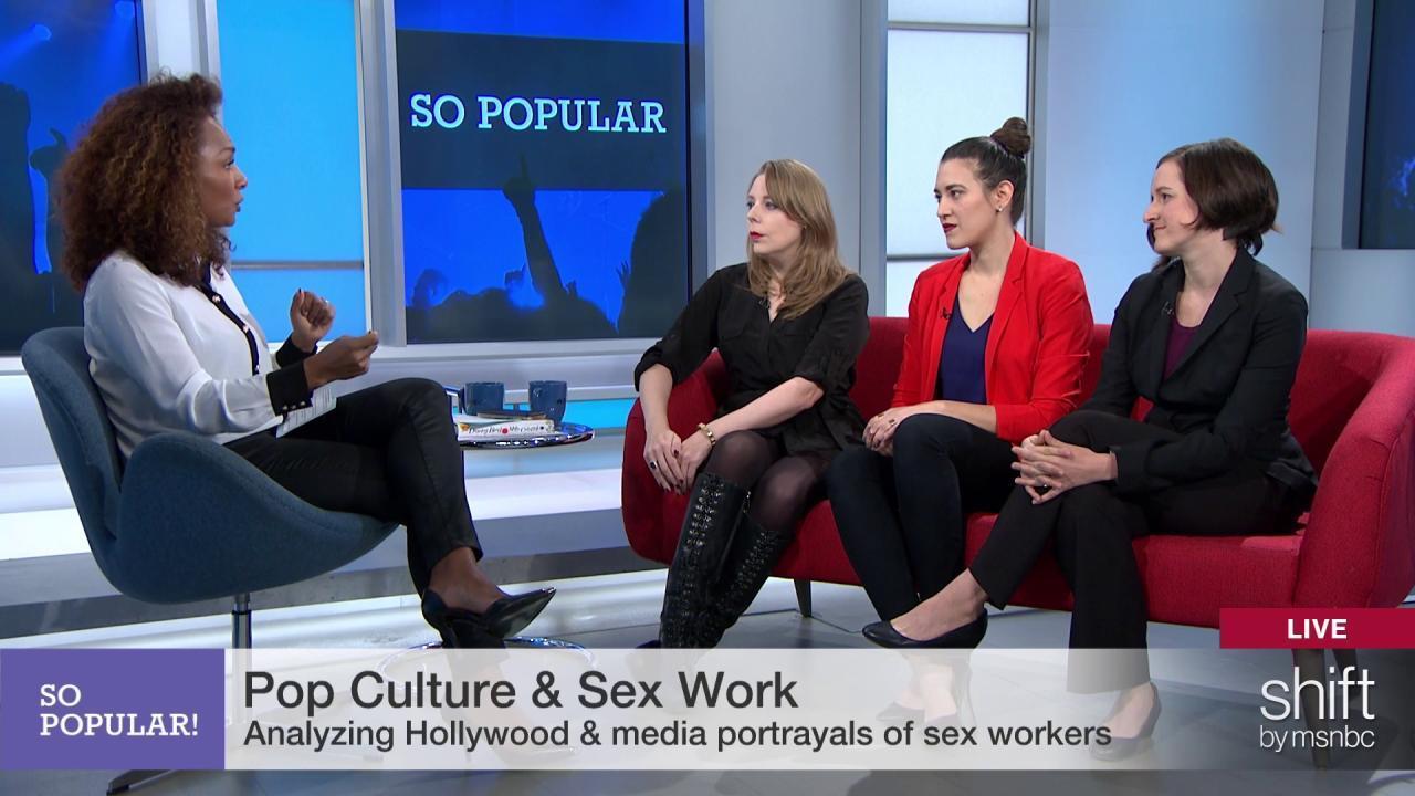 Pop culture representations of sex work