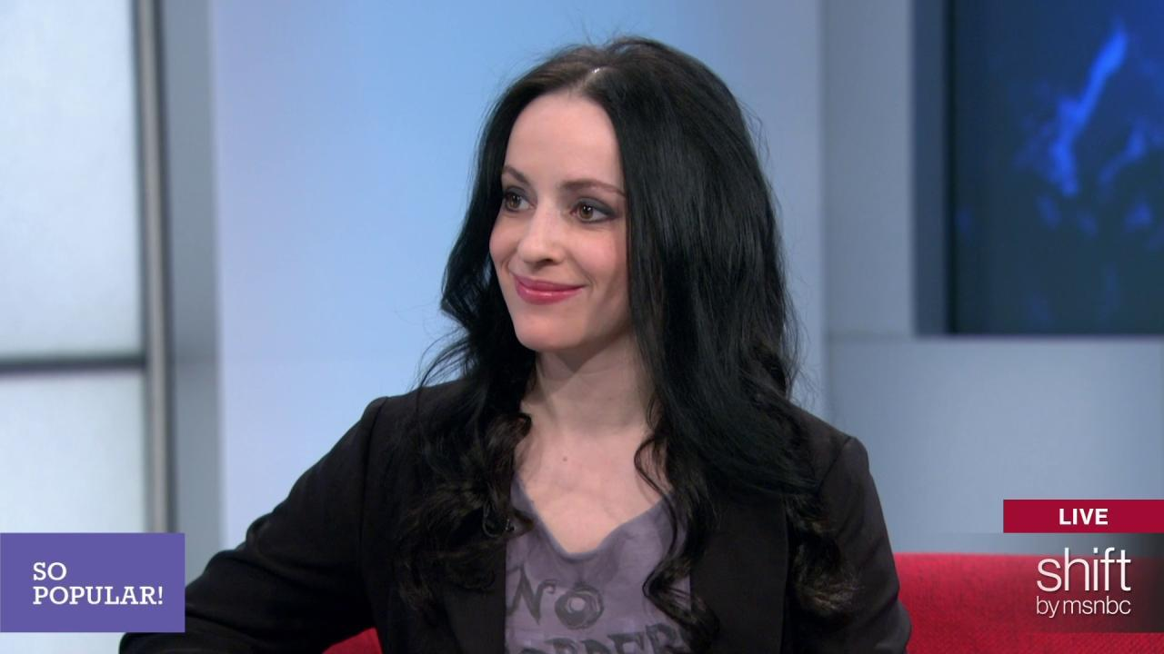 Molly Crabapple on her memoir 'Drawing Blood'
