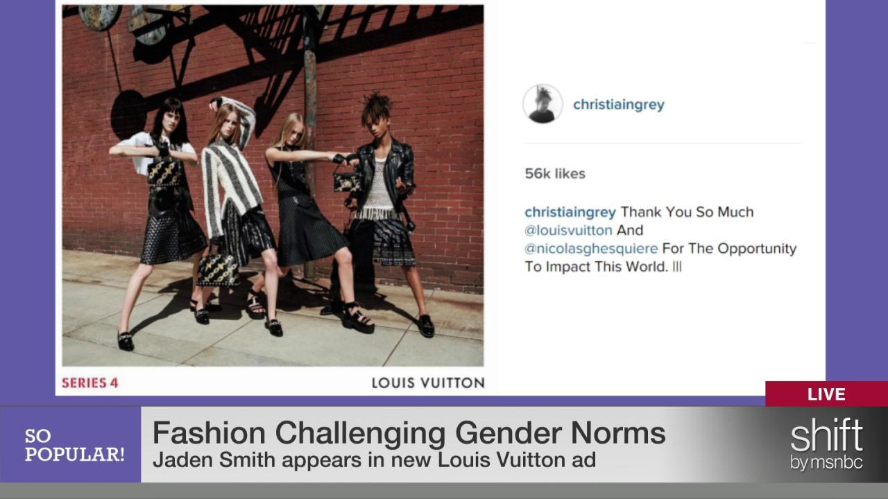 Jaden Smith's Louis Vuitton ad & gender norms
