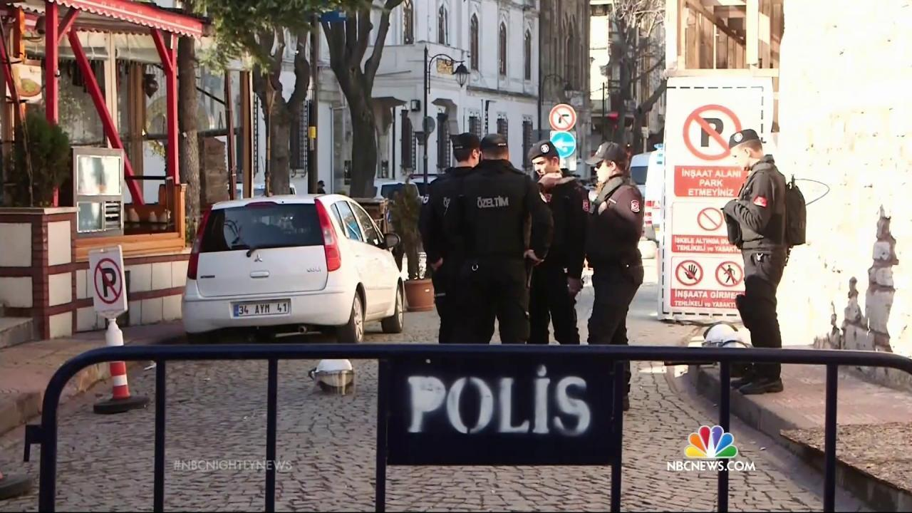 Three Russians Detained on Suspicion of ISIS Links After Istanbul Bombing