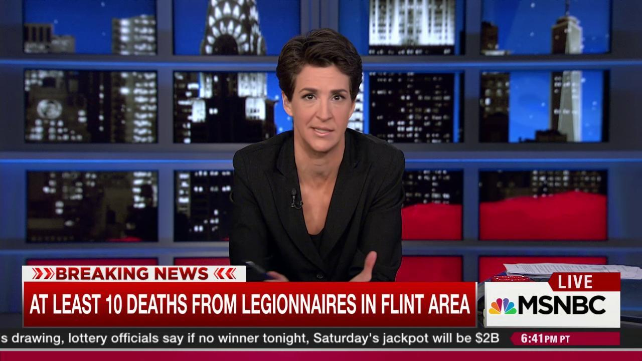 Spike in cases of Legionnaires' alarms Flint