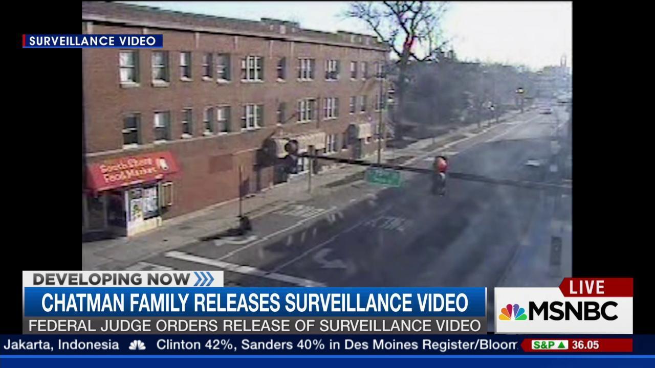 Chatman family releases surveillance video