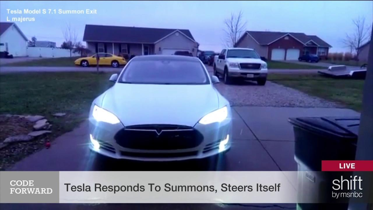You can now summon your Tesla like Batman