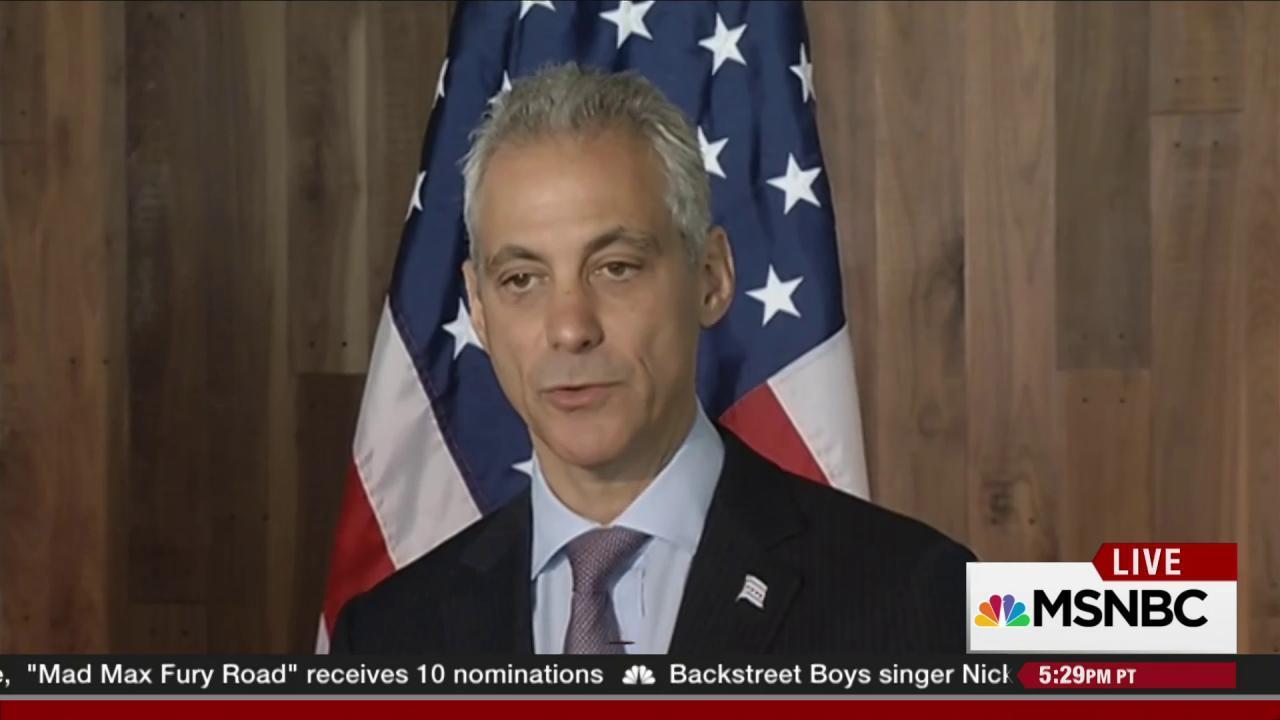 The credibility of Mayor Rahm Emanuel